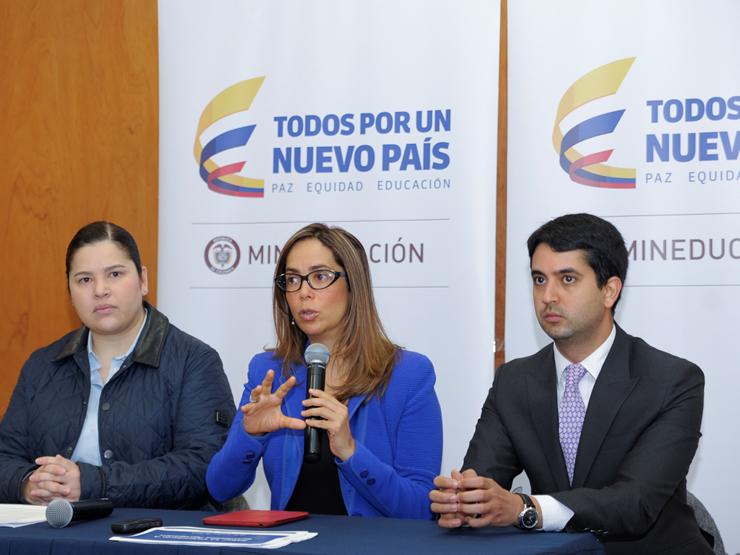 Ministra de Educación, Gina Parody