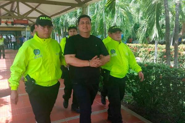 John Jairo Torres, alias 'John Calzones' / Foto de la Policía Nacional