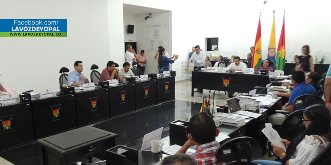 Por unanimidad de Concejales, aprobaron proyecto de acuerdo de modificación al presupuesto 2017 de Yopal