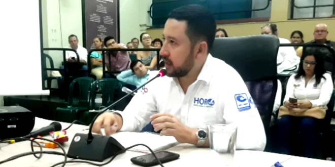 Se llevó a cabo control político al gerente del Hospital Regional de la Orinoquía