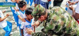 Ejército Nacional  apoyó charlas de sensibilización que contribuyen al respeto de los Derechos Humanos.