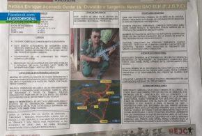 Nuevo golpe a las estructuras criminales en la Orinoquia colombiana.
