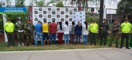 Golpe al microtráfico en Arauca deja ocho capturas