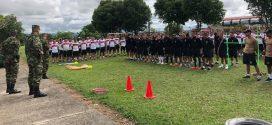 Soldados profesionales recibieron jornadas de recreación y deportes en el departamento de Arauca