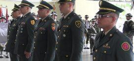 Ascendieron oficiales del Ejército Nacional.