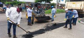 Se han recuperado 5 mil metros cuadrados de malla vial en Yopal.