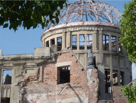 Epicentro bomba atómica en Hiroshima D.R. GC