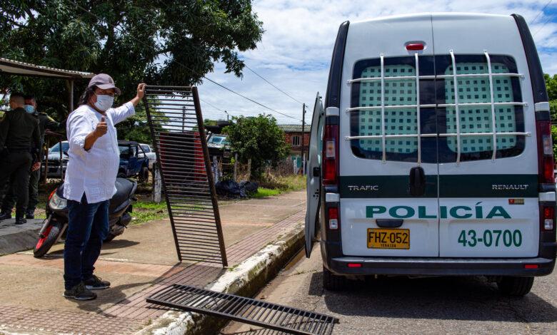 Recuperadas rejillas hurtadas en Yopal - Noticias de Colombia