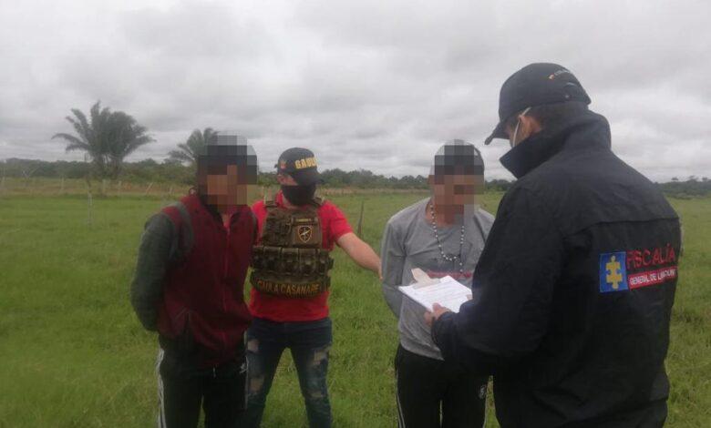 Capturados dos presuntos integrantes del GAOR 28 - Noticias de Colombia